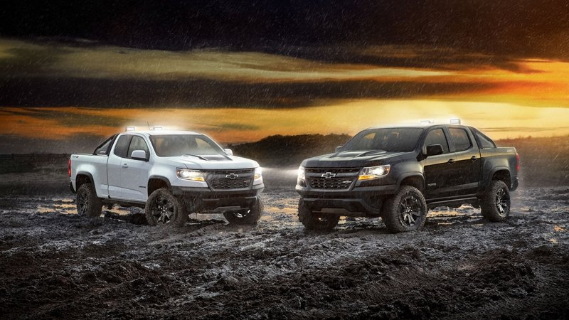 2018 Chevrolet Colorado ZR2 Midnight Edition and Dusk Edition - image 739545