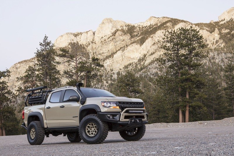 Chevy is Pushing the Colorado ZR2 AEV Concept into Production; Will Probably Call it the Colorado Bison