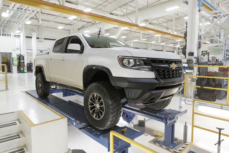 2017 Chevrolet ZR2 Race Development Truck