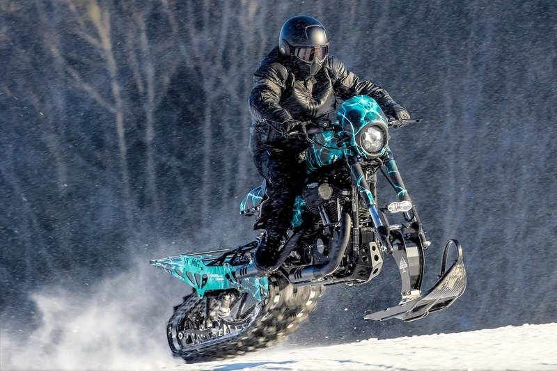 Meet the Harley Davidson Roadster Snow Drag. Exterior High Resolution Wallpaper quality - image 736606