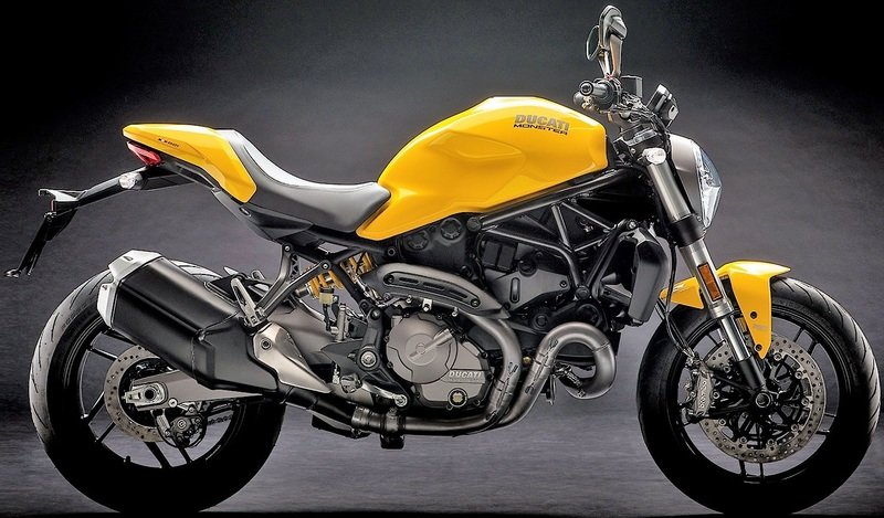 Ducati's new Monster 821 gets released out of the cage.