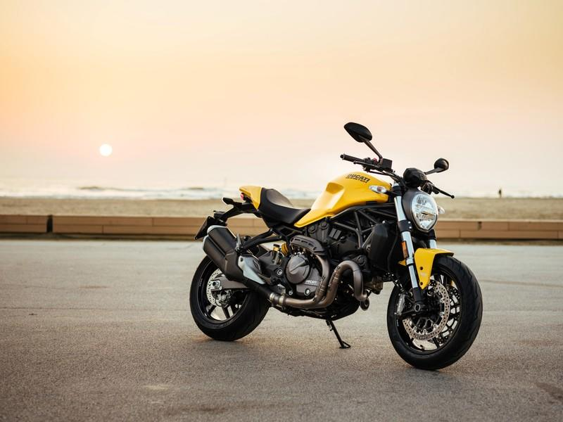 Ducati's new Monster 821 gets released out of the cage. Exterior High Resolution Wallpaper quality - image 738953