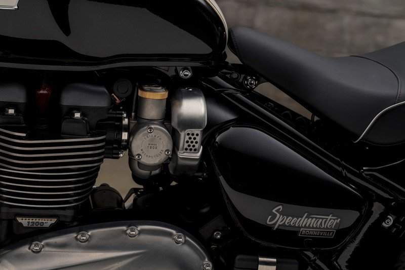 Images: The Triumph Bonneville Speedmaster - in the details and accessories. Exterior High Resolution - image 736012