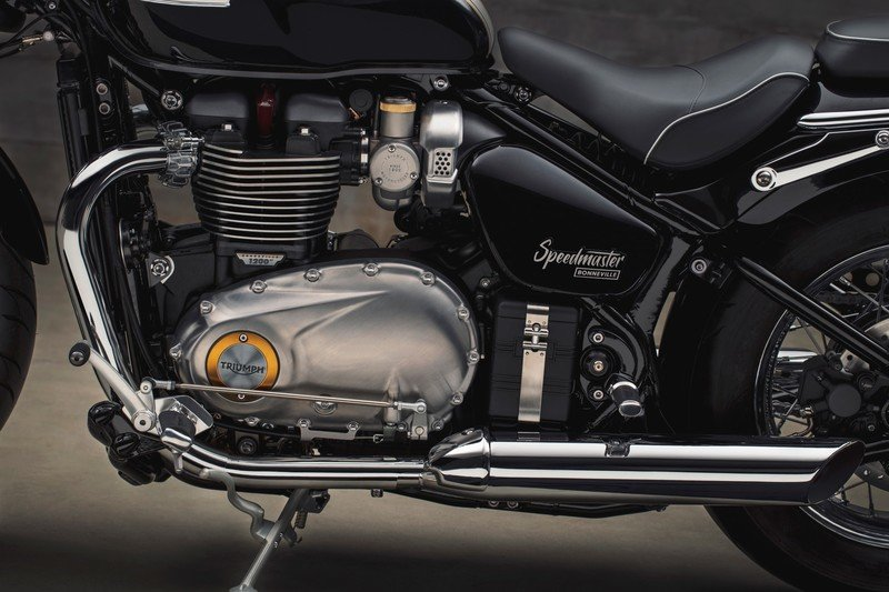 Images: The Triumph Bonneville Speedmaster - in the details and accessories. Exterior High Resolution - image 736013
