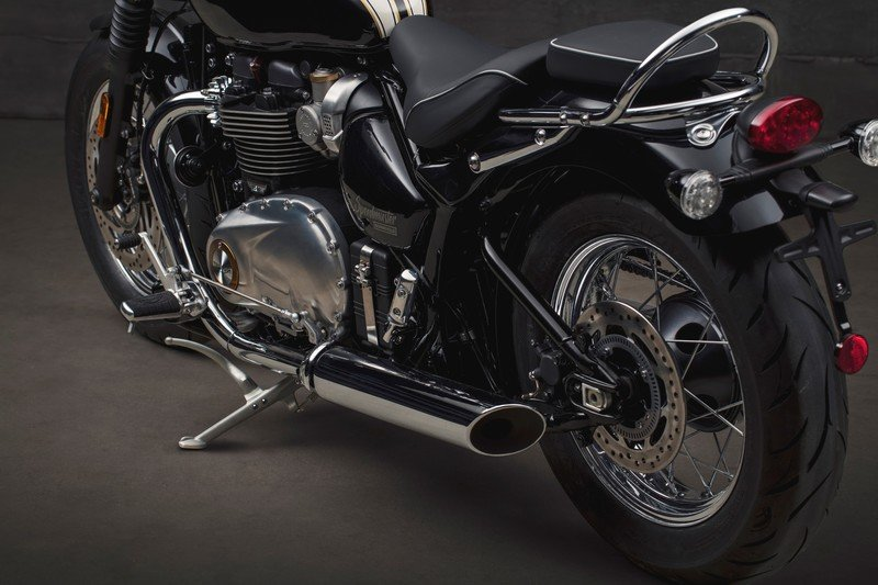 Images: The Triumph Bonneville Speedmaster - in the details and accessories. Exterior High Resolution - image 736015