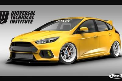 2017 Ford Focus RS By Universal Technical Institute, Tjin Edition, and Pennzoil - image 738194