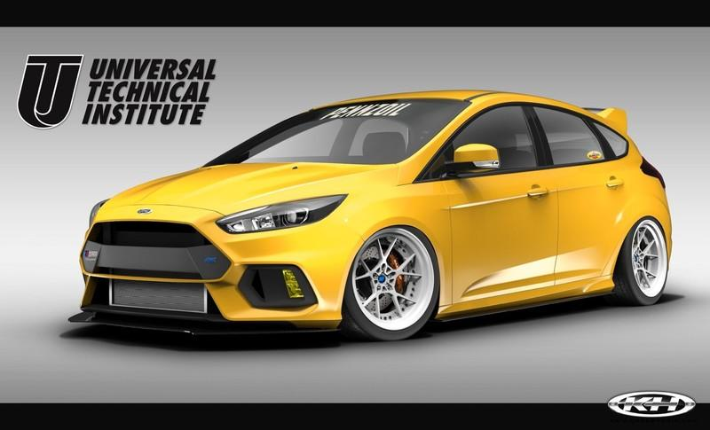 2017 Ford Focus RS By Universal Technical Institute, Tjin Edition, and Pennzoil