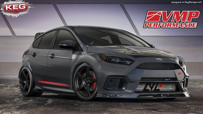 "2017 Ford Focus RS ""TriAthlete"" by VMP Performance"