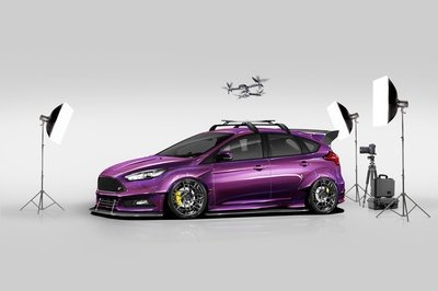 2017 Ford Focus ST by Blood Type Racing - image 738198