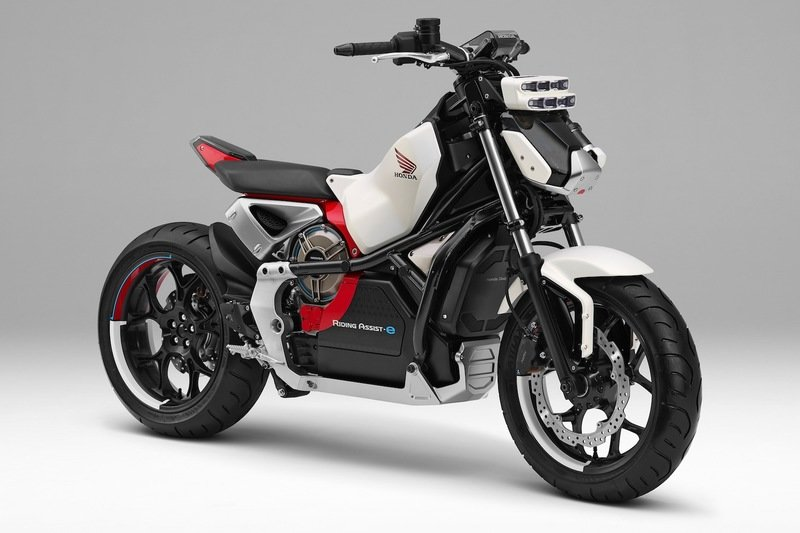 Honda's self balancing motorcycle concept will debut at this year's Tokyo Motor Show
