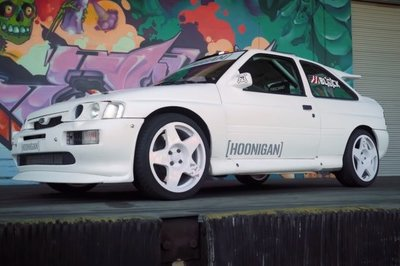 Ken Block And The Hoonigans Play With An Escort Cosworth Rally Racer: Video - image 737887