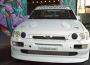 Ken Block And The Hoonigans Play With An Escort Cosworth Rally Racer: Video - image 737892