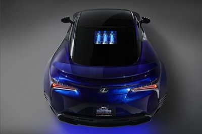 2017 Lexus LC 500 Inspired By Black Panther - image 740241