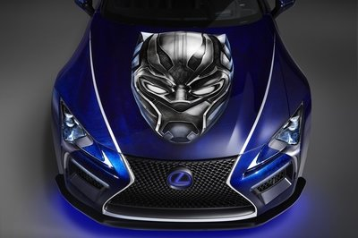 2017 Lexus LC 500 Inspired By Black Panther - image 740242
