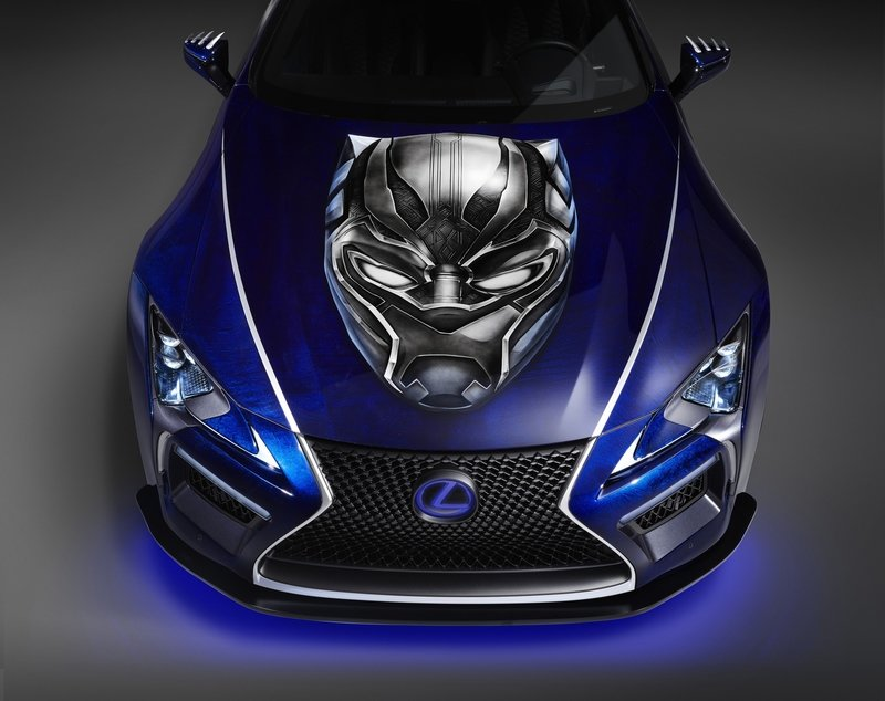 2017 Lexus LC 500 Inspired By Black Panther
