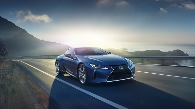 2018 Lexus LC Structural Blue Edition