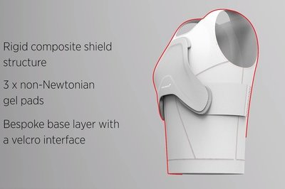 McLaren Develops Composite Body Armor For Health Care