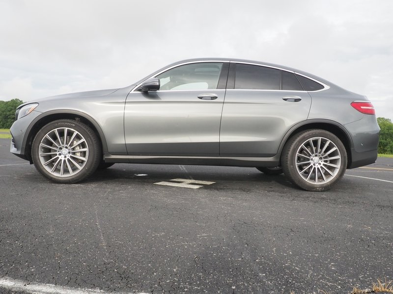 2017 Mercedes-Benz GLC 300 Coupe - Driven Exterior - image 741320