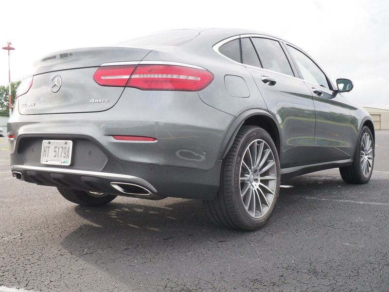 2017 Mercedes-Benz GLC 300 Coupe - Driven Exterior - image 741326