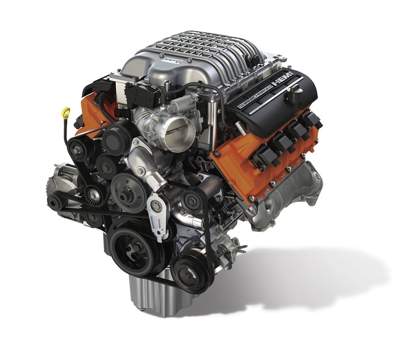 The 6.2-Liter Hellcat V-8 Is Finally Available As A Crate Engine
