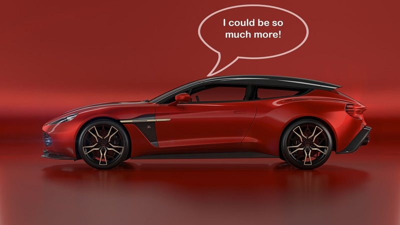 Pops' Rants: Here's What's Wrong with the Awesome Aston Martin Vanquish Zagato