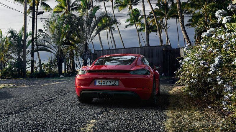 Wallpaper of the Day: 2018 Porsche 718 Cayman GTS