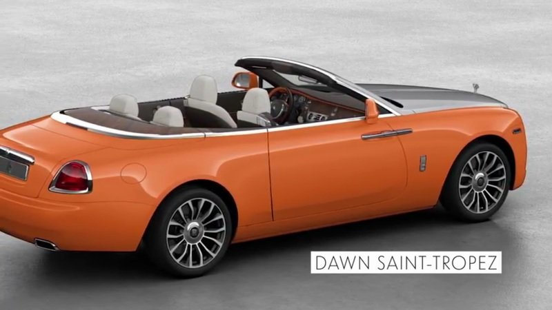 2018 Rolls-Royce Dawn Neiman Marcus Special Editions