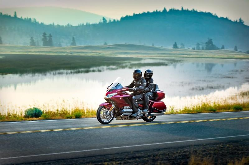 Say hello to the ultimate Japanese luxury tourer, the 2018 Honda Gold Wing.