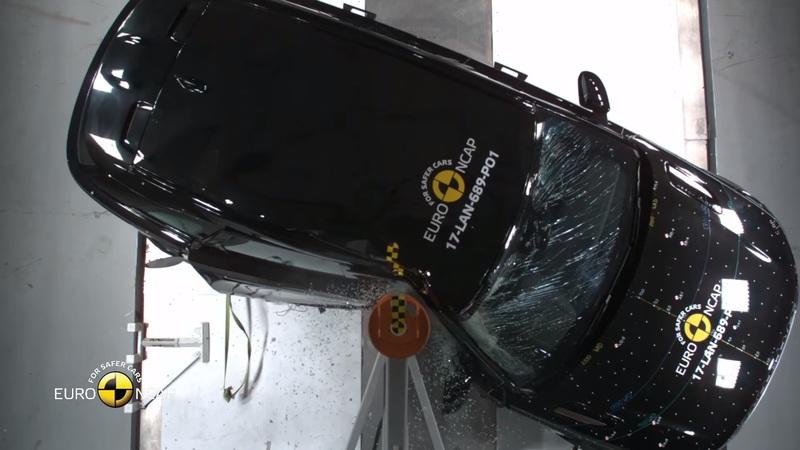See How The 2018 Range Rover Velar Withstands Crash Testing
