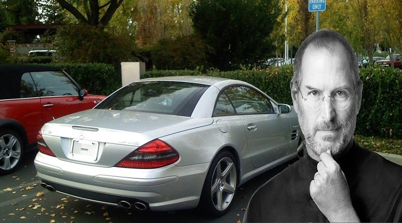 Steve Jobs Hated License Plates