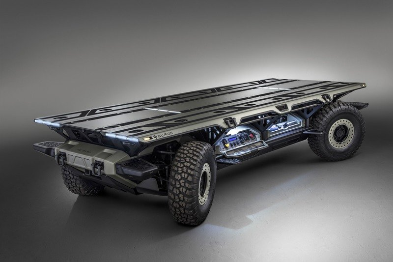 GM Developing Autonomous, Fuel Cell, Multi-Use Platform Called SURUS Technology - image 736778