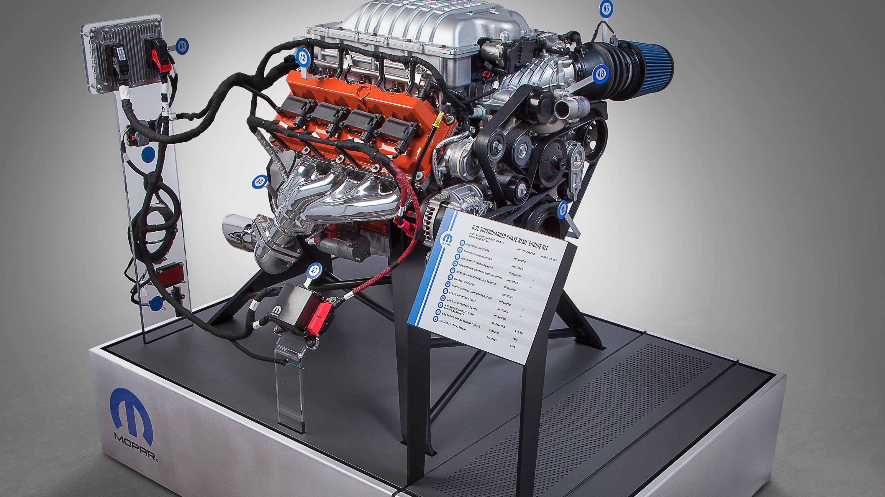The 62 Liter Hellcat V 8 Is Finally Available As A Crate Engine Chrysler Automotive Wiring Harness Chryslers Famed Parts Division Mopar Officially Offering Mighty Hemi Anyone Can Order
