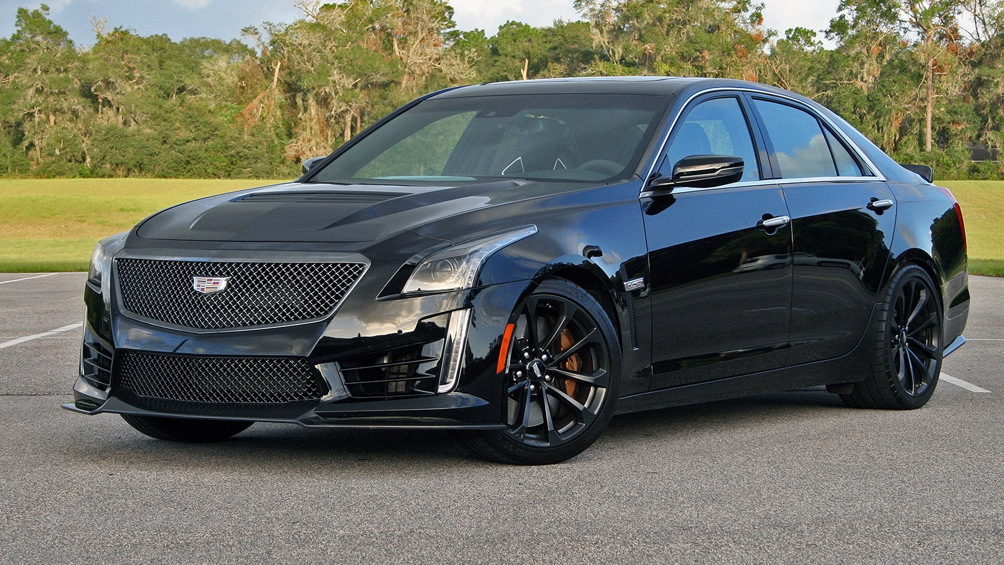 cadillac cts v driven top speed howldb. Black Bedroom Furniture Sets. Home Design Ideas