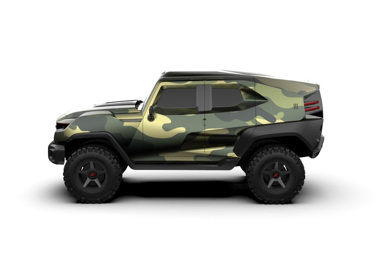 The Rezvani Tank Can Get Crazy Expensive! Exterior - image 740214