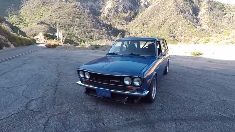 The Smoking Tire Takes A Modified Datsun 510 Wagon Out To The Canyons: Video