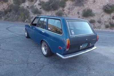 The Smoking Tire Takes A Modified Datsun 510 Wagon Out To The Canyons: Video - image 738547