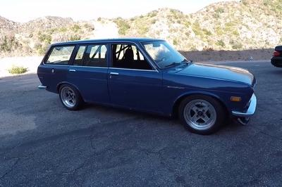 The Smoking Tire Takes A Modified Datsun 510 Wagon Out To The Canyons: Video - image 738546