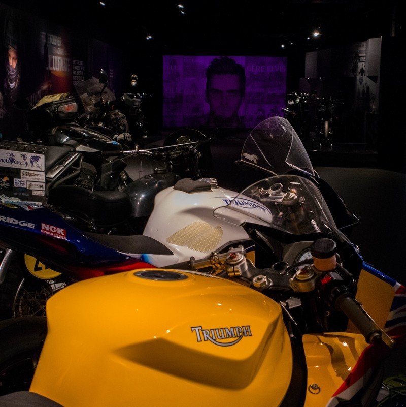 Triumph has a swanky new factory visitor experience.