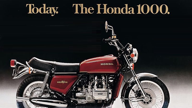 Honda released an emotional video taking us back to 43 years of the Goldwing's journey.