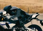 V. Rossi shows the Yamaha Motobot who is boss. - image 741208
