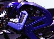 V. Rossi shows the Yamaha Motobot who is boss. - image 741214