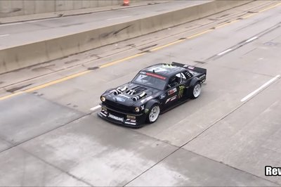 Video Memo Ken Block Spotted On Detroit Streets Gymkhana 10 Could
