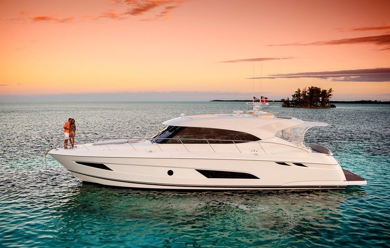 2017 Riviera 5400 Sport Yacht Exterior High Resolution Wallpaper quality - image 747629