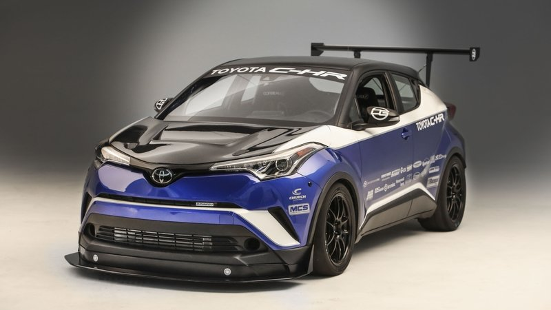 Can The Toyota R-Tuned C-HR Beat The Honda Civic Type R's FWD Lap Record At The Nurburgring?