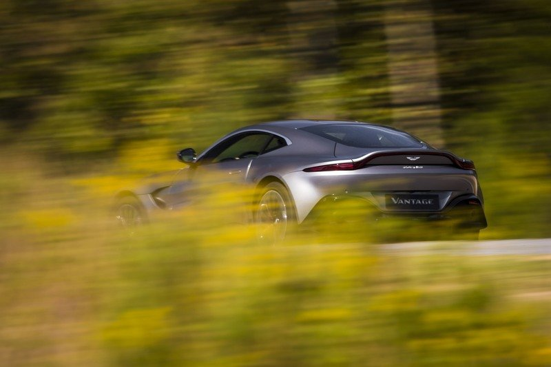 The 2018 Aston Martin Vantage Comes to Strike Fear in Porsche and Mercedes Purists Everywhere
