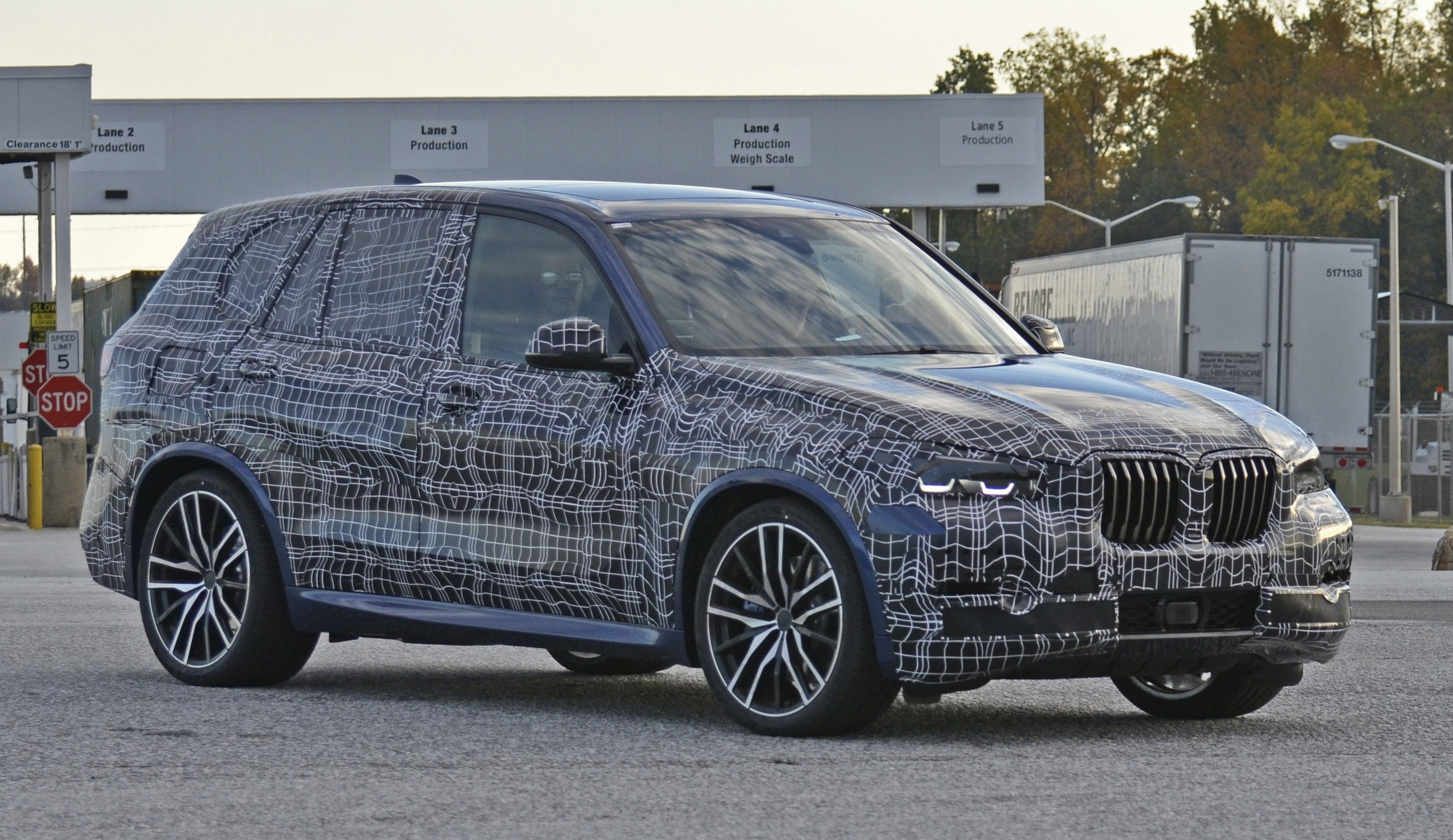 BMW X5 Spyshots - Fourth Testing Session