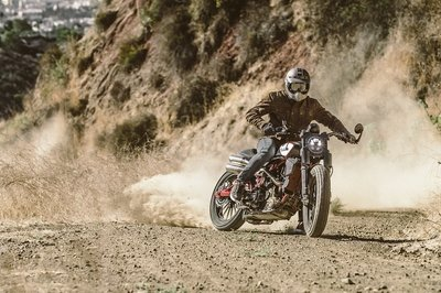 2018 First Look: Indian Motorcycle Scout FTR1200 Custom