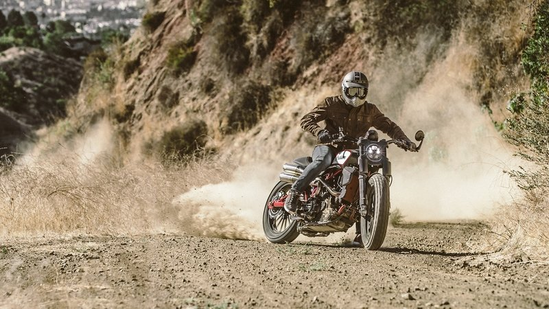2018 First Look: Indian Motorcycle Scout FTR1200 Custom - image 743239