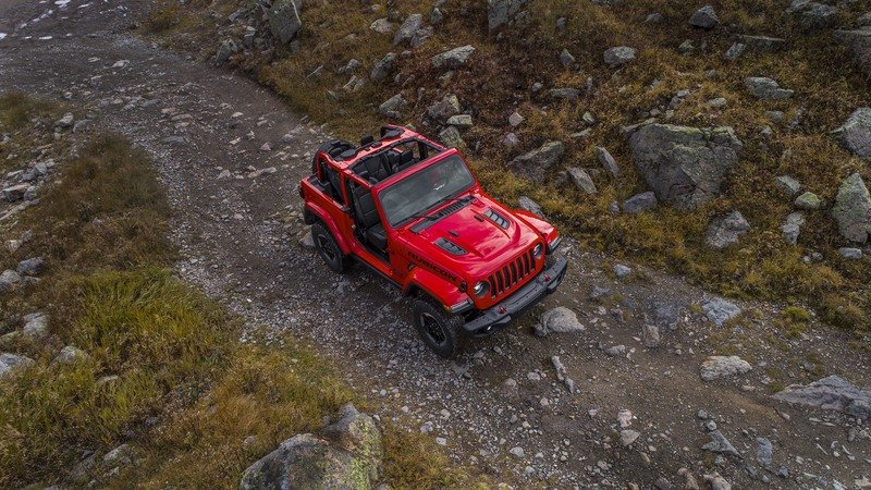 2018 Jeep Wrangler 3.6-liter Pentastar V-6 Specifications