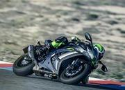 Kawasaki adds electronic suspension to its new member of the ZX-10R class - image 743901